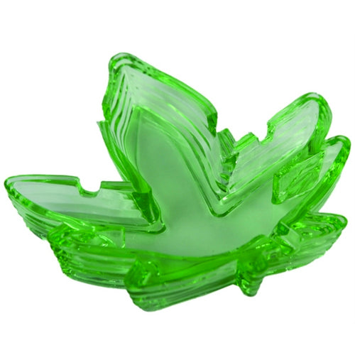 Green Leaf Party Favor Ashtray