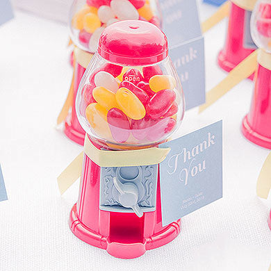 Mini Gumball Machine Favor - Empty