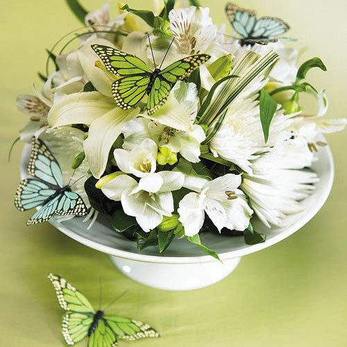 Hand Painted Butterfly Decorations