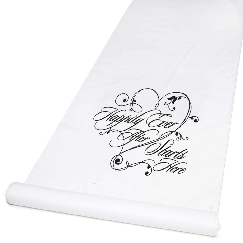 Happily Ever After Wedding Aisle Runner