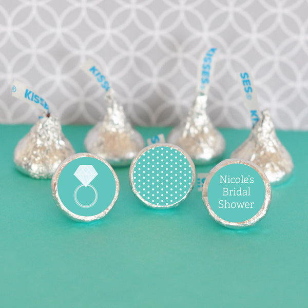 Hershey S Kisses Bridal Shower Stickers Set Of 108