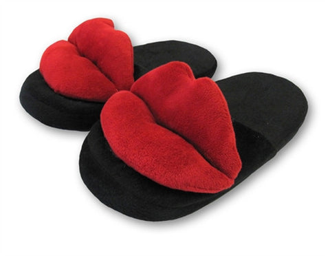 Red Hot Lips Slippers