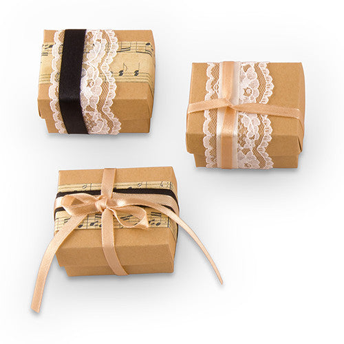 Vintage Wedding Favor Wrapping Kit (Pack of 12)