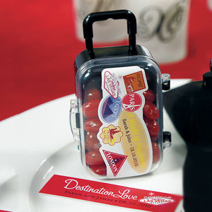 Mini Travel Trolley Wedding / Party Favor - other items and stickers sold separately