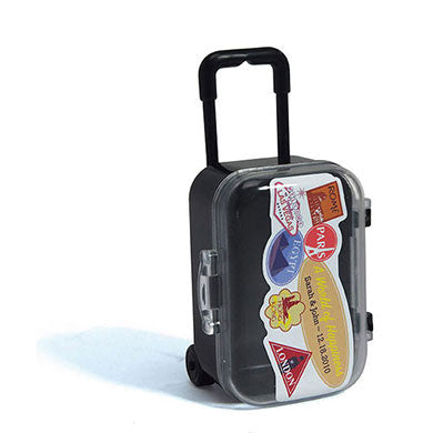 Mini Travel Suitcase Wedding Party Favor (Pack of 6)