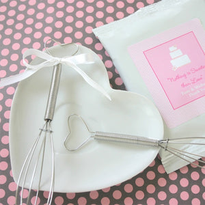 Heart Mini Whisk Wedding Party Favor Idea