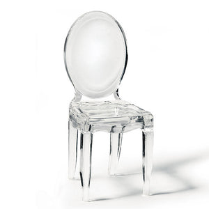 Miniature Clear Acrylic Phantom Chair Wedding Party Favor