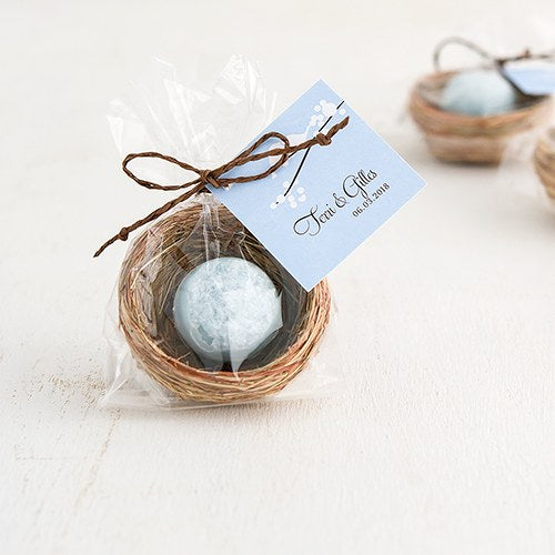 Mini Natural Bird Nests (Pack of 12)