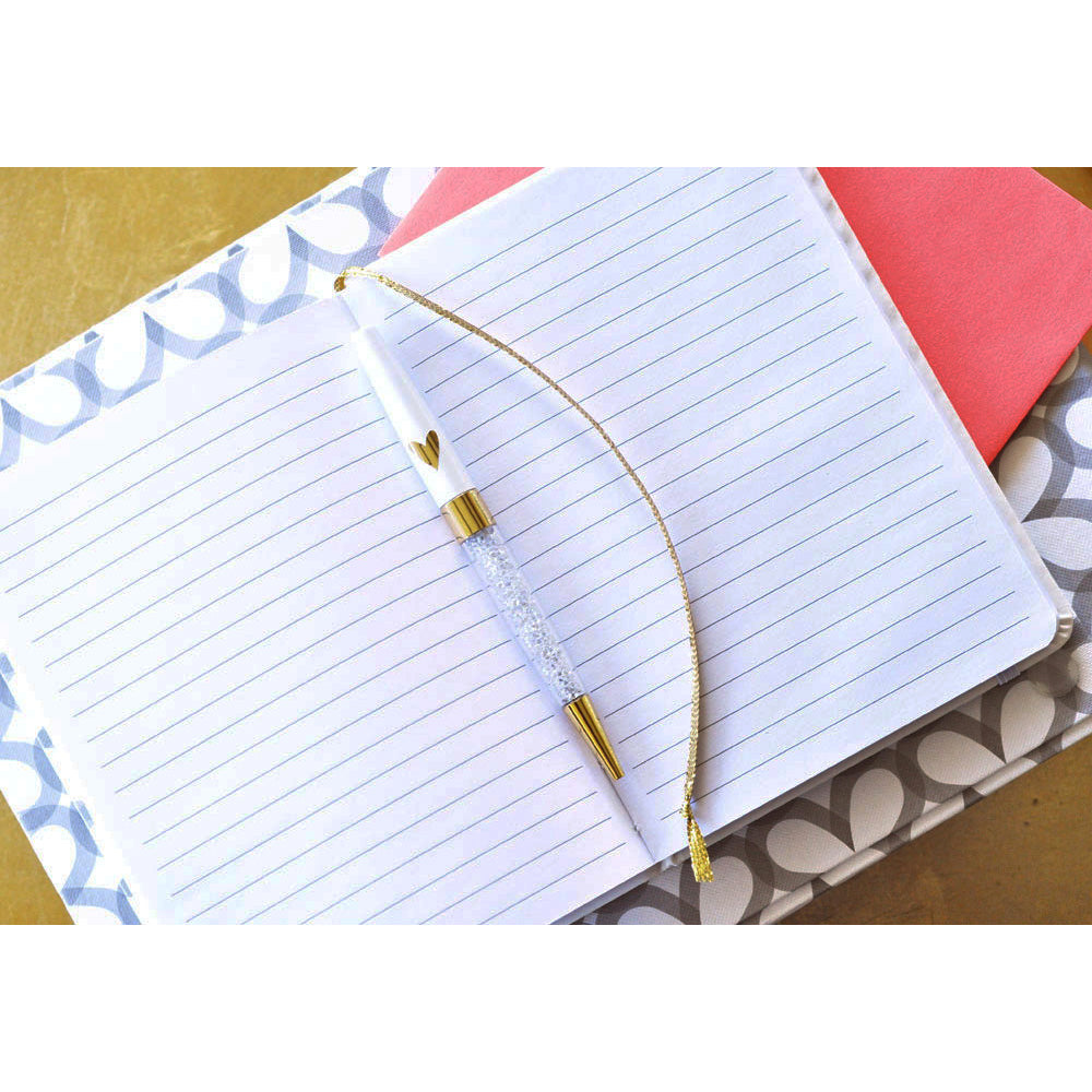 "Gold  5"" x 7"" Monogram Notebook Journal"
