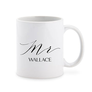 Personalized Mr Coffee Mug Cup