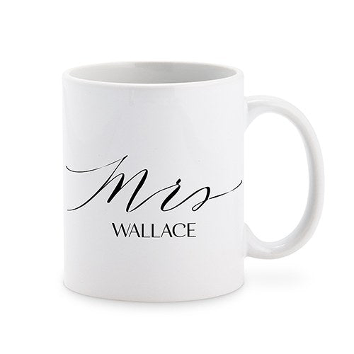 Personalized Mrs Coffee Mug Cup