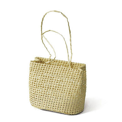 Mini Woven Beach Bag Favor