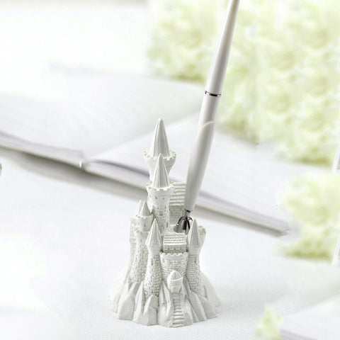 """Once Upon A Time"" Fairy Tale Castle Pen Set"