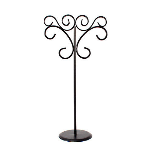 Ornamental Wire Stationery Holder for wedding tablescapes and parties.