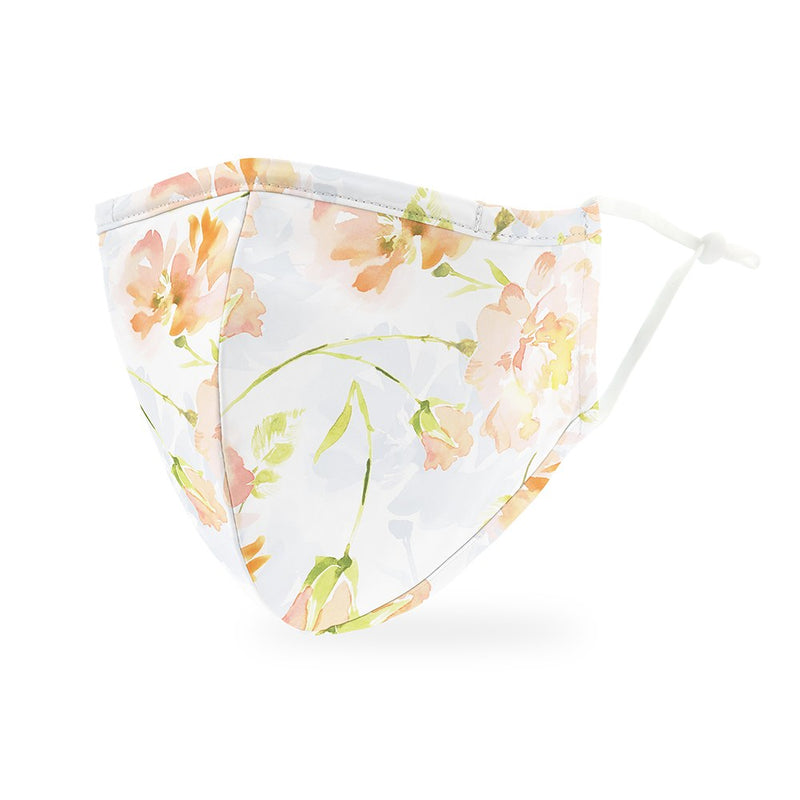 Pastel Floral Adult Cloth Face Mask