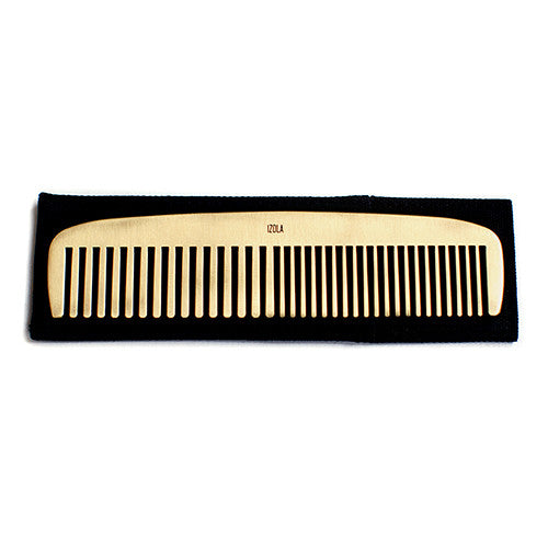Personalized Fine and Dandy Brass Hair Comb
