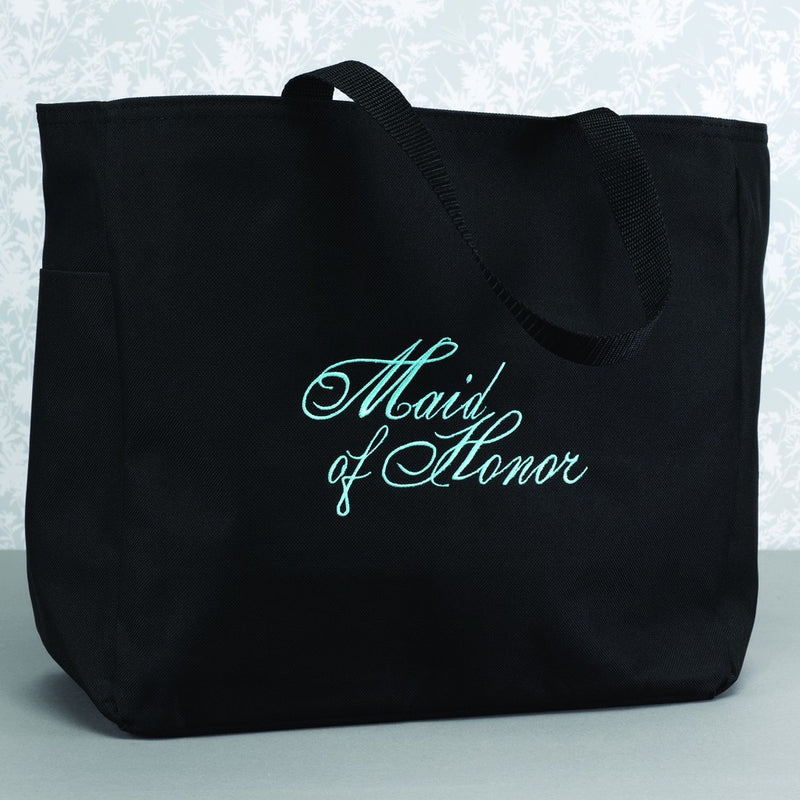 Maid of Honor Bridal Tote Bag