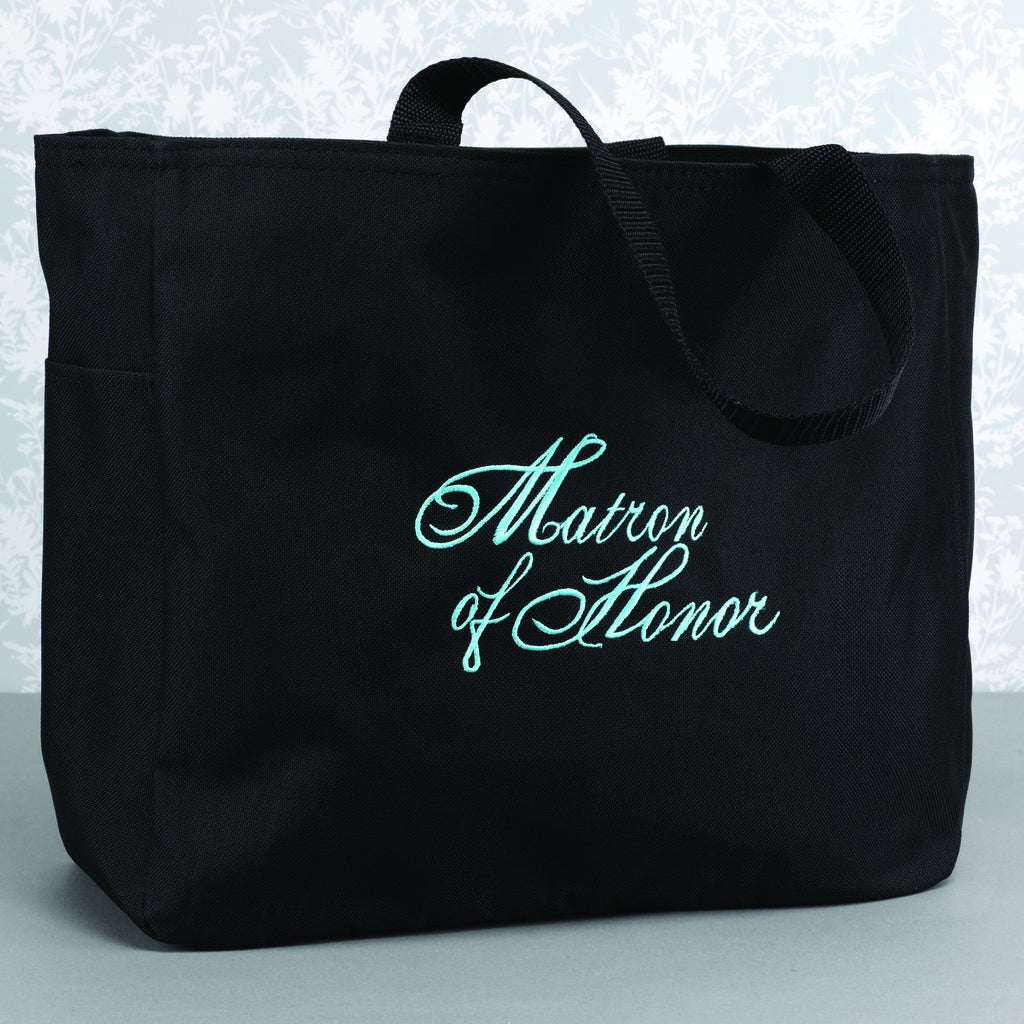 Matron of Honor Bridal Tote Bag