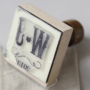 Vineyard Personalized Rubber Stamp