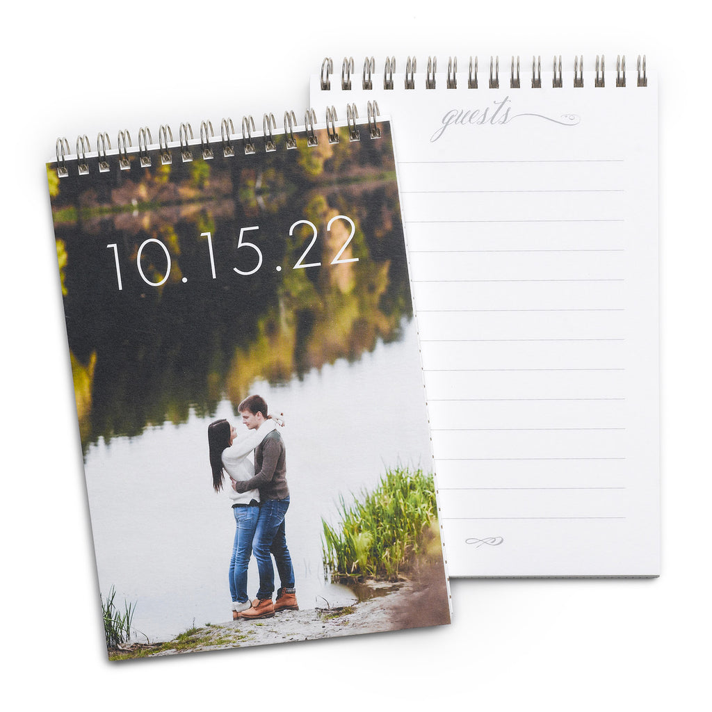 Vertical Personalized Photo Guest Book Alternative