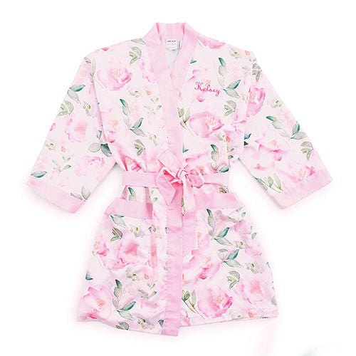 Personalized Silky Kimono Bridesmaids Robes