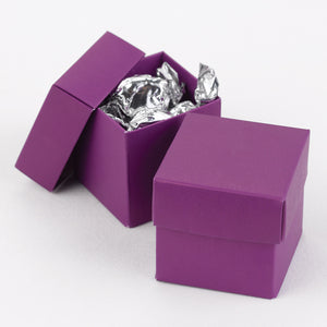 Purple 2-Piece Favor Box