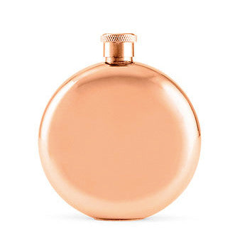 Stunning Rose Gold Bride Bridesmaid Flask