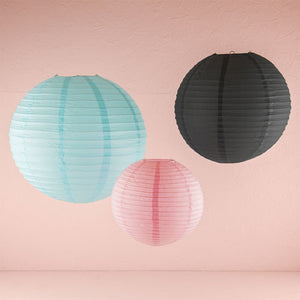 Small, Medium and Large Paper Lanterns