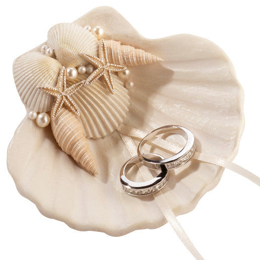Seashell Wedding Aisle Wedding Ring Holder