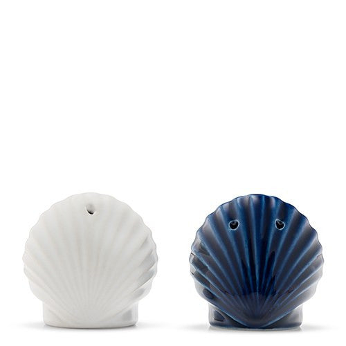 Seashell Salt and Pepper Shaker Set Wedding Party Favor