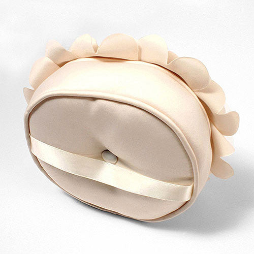Floral Wedding Ring Bearer Pillow