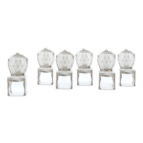 Silver Chair Wedding Party Favor Boxes