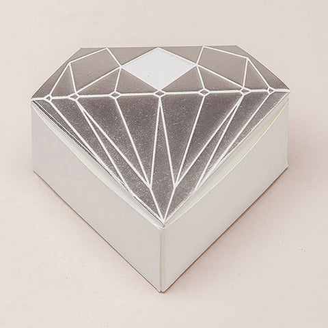 Diamond Shaped Wedding Favor Box (Pack of 10)