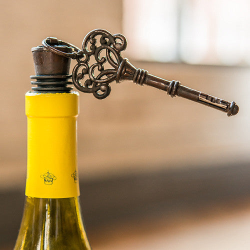 Skeleton Key Bottle Stopper Favor