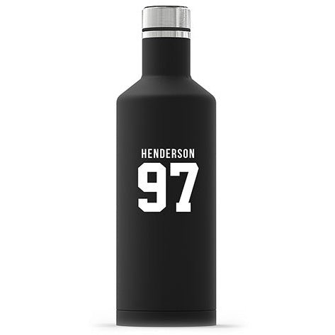 Sports Team Player Name Insulated Water Bottle