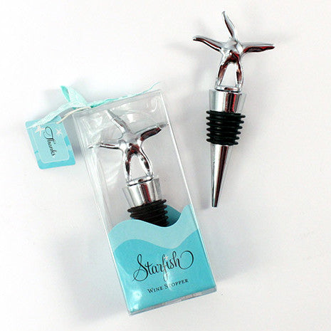 Starfish Wine Stopper - Includes gift packaging