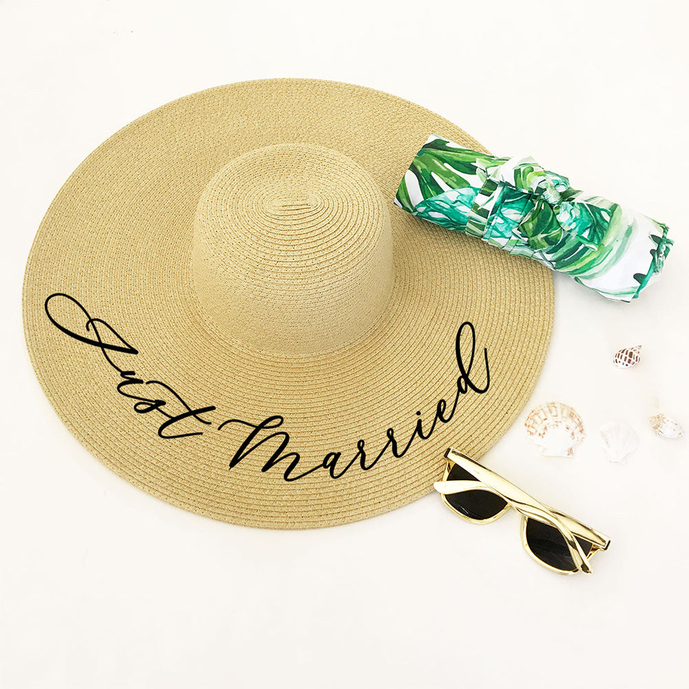 e60a695fc05a8 Personalized Sun Hat with Name – Candy Cake Weddings Favors and Custom Gifts
