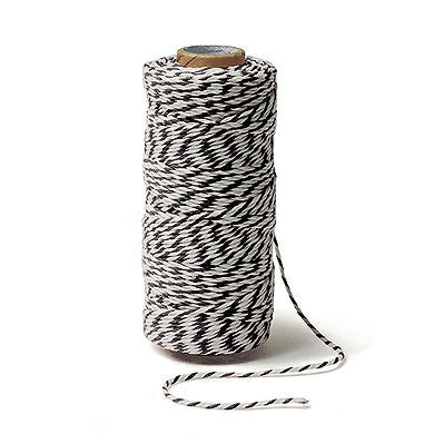 Striped Cotton Baker's Twine
