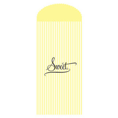 Sweet Candy Striped Wedding Party Favor Bag (Pack of 50)