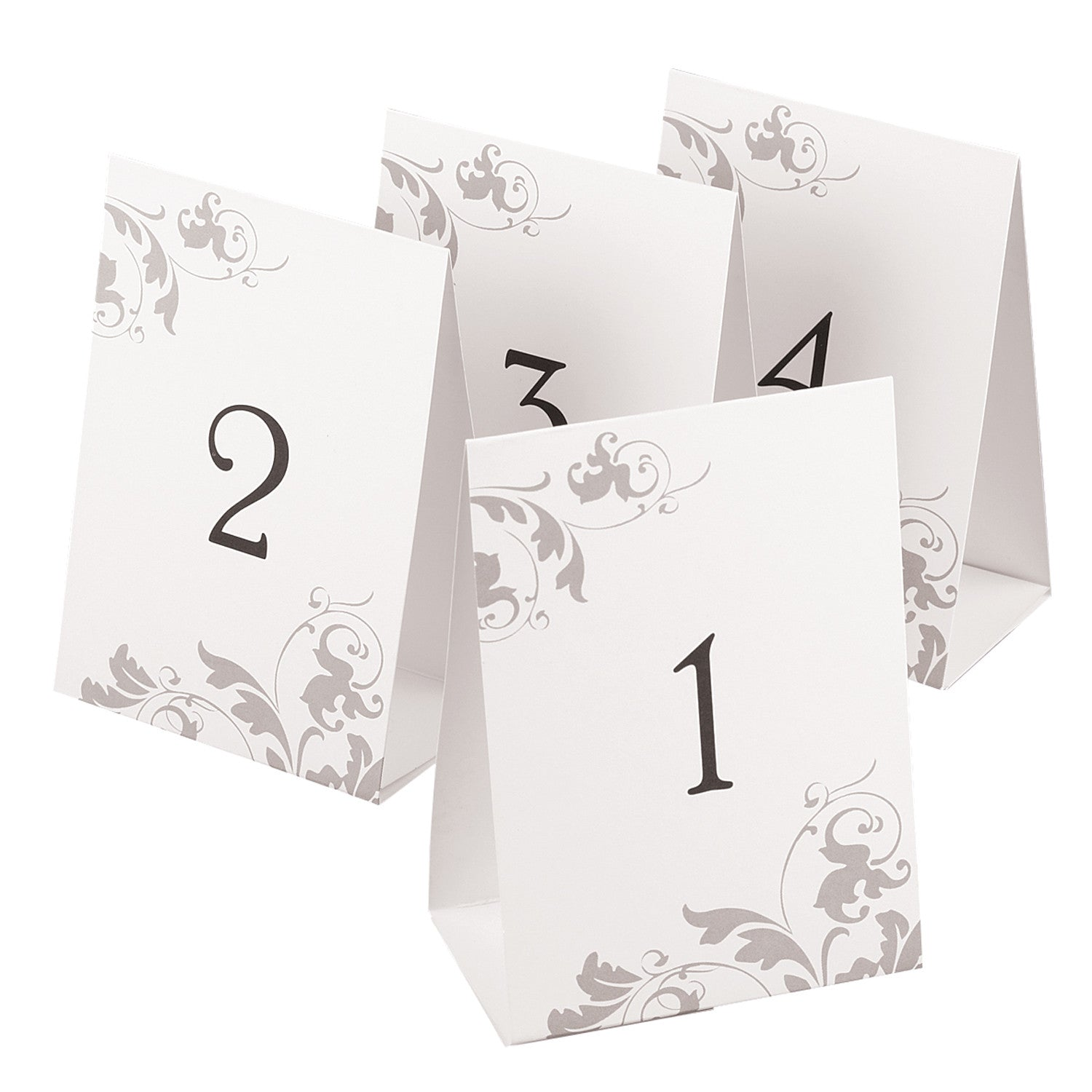 Table Number Tents  sc 1 st  Candy Cake Weddings & Numbered Wedding Table Tents u2013 Candy Cake Weddings