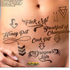 Erotic Party Tattoos - Assorted Pack