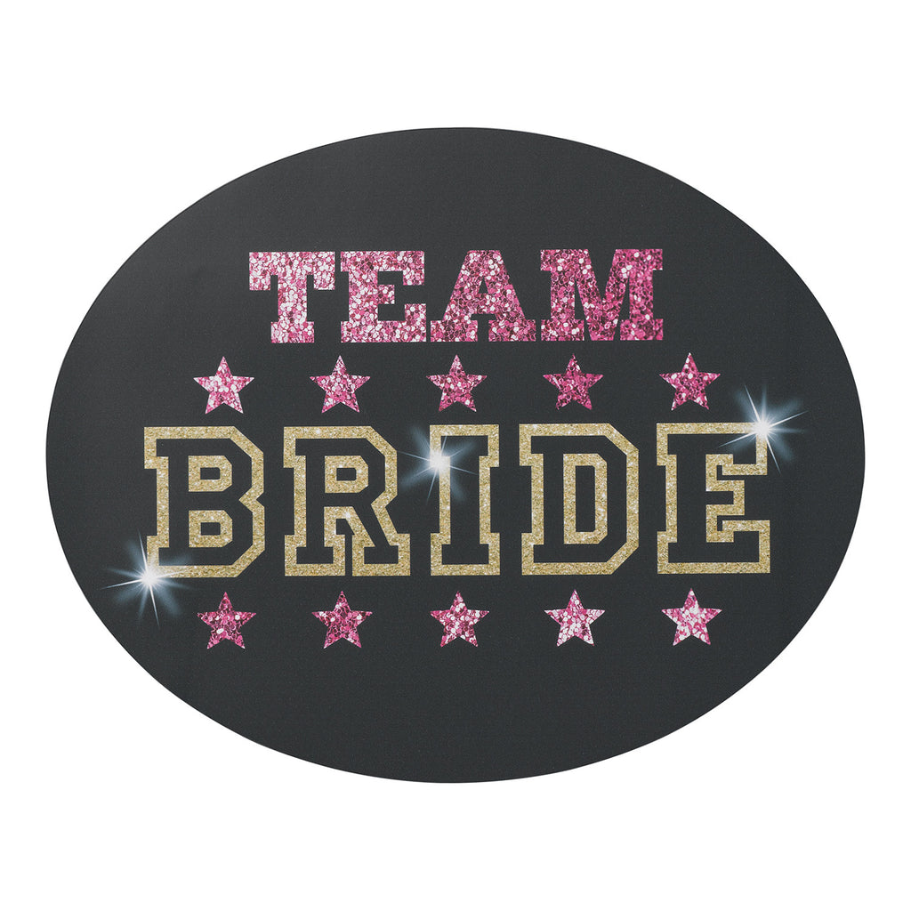 Team Bride Bachelorette Party Window Cling
