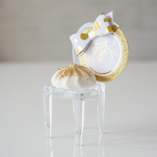 Miniature Clear Acrylic Wedding Party Chair Favor
