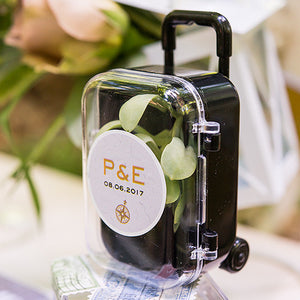 Suitcase Wedding Party Favor