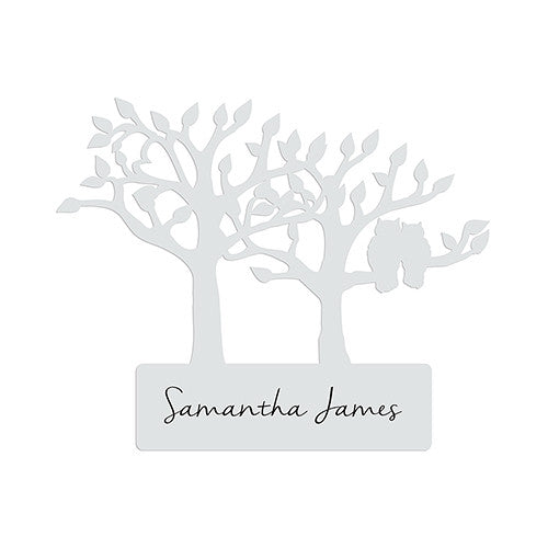 Tree Owl Woodland Place Card Stationery (Pack of 12)