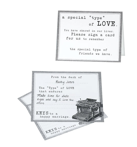 Mini Typewriter Replica Wedding Party Decoration