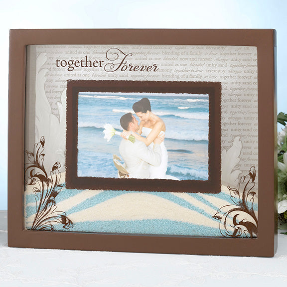 Unity Sand Wedding Ceremony Picture Frame