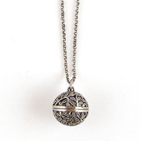 Orb Locket With Chain