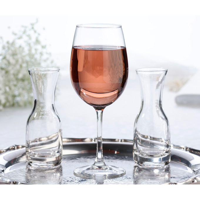 Unity Wine Glass and 2 Carafes Wedding Ceremony Unity Set