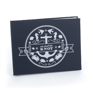 Nautical Wedding Ceremony Guest Book